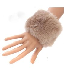 DL88856273 Faux Fur Wrist Cuffs