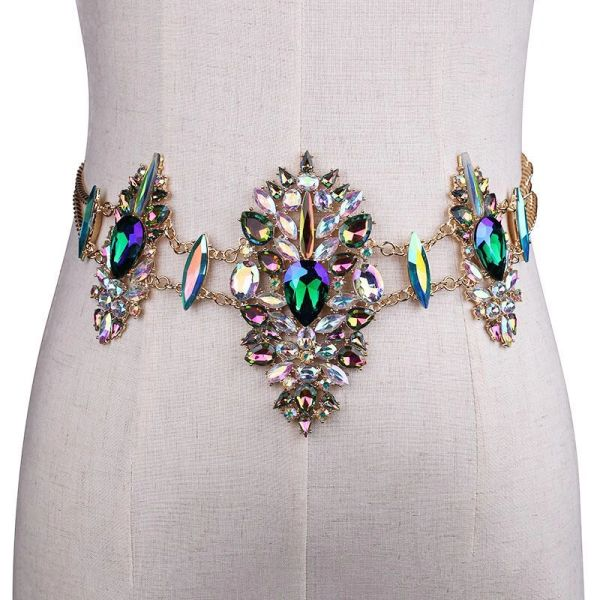 Jeweled Chain Belt