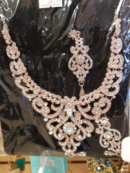 Femme Bijoux Diamond Necklace Set