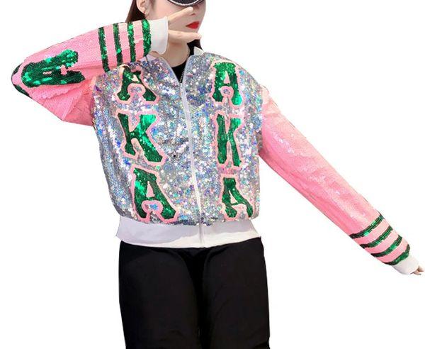 AKA Bling Lettermen Jacket