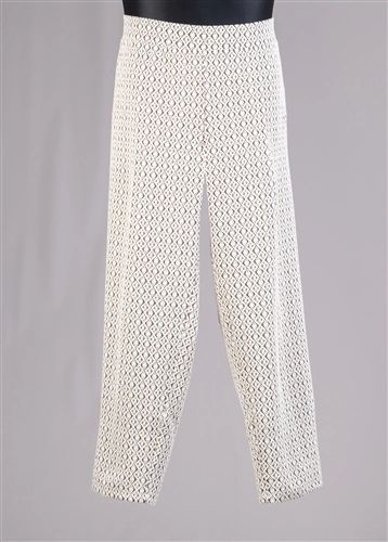 Designer Print Knit Pant