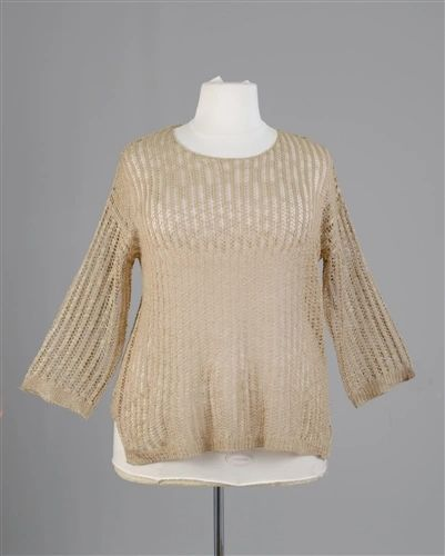 Plus Size Knit Sweater Top