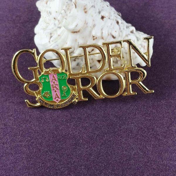 AKA Silver - Gold Soror Brooch