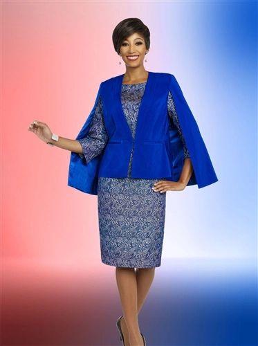 Ben Marc 2 Print Dress Suit