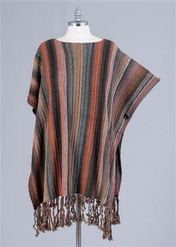 Radzoli Multi ColorSweater Poncho
