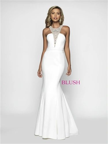 Blush Gowns Mermaid Prom Dress