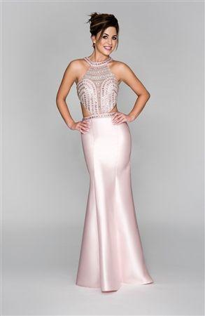 Serendipity Jewel Illusion Mermaid Dress