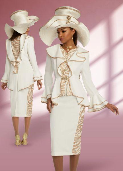 DVC Designer Ruffle Suit