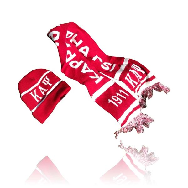 Greek Life - Sorority & Fraternity Scarves and Matching Caps