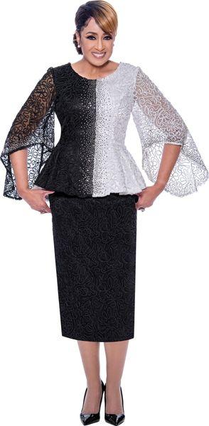 Dorinda Clark-Cole Designer Embellished 2pc Suit