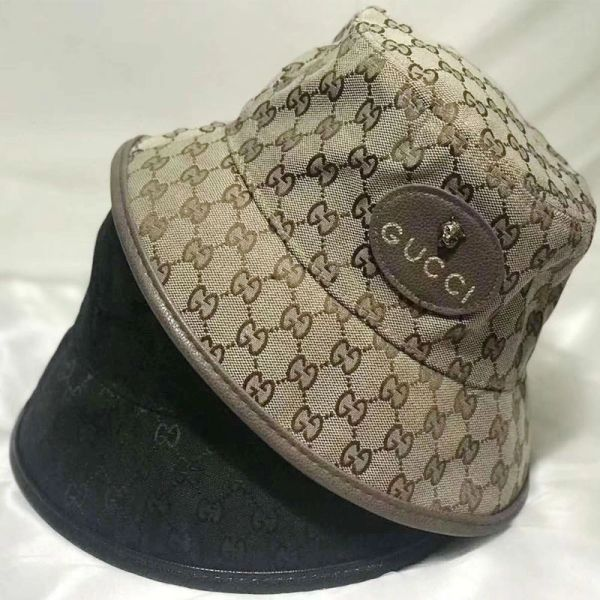 Letter Cloche with Wide Brim Hat