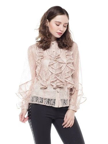 Lace Top with Camisole