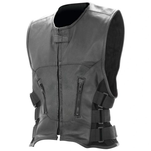 Rocky Mountain Hides™ Solid Genuine Buffalo Leather Vest