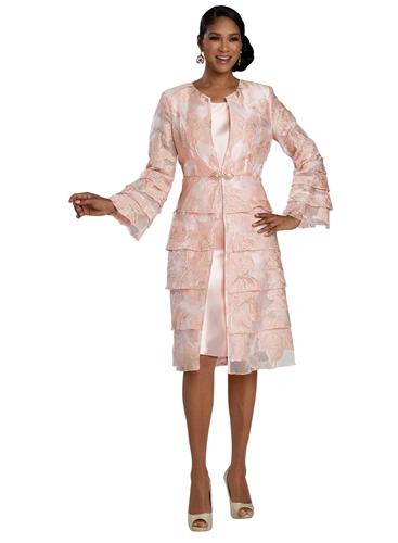 DVC Layered 2pc Jacket Dress