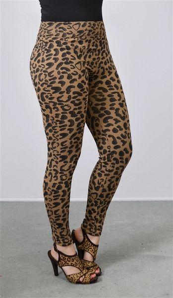 Leopard Plus Size Legging