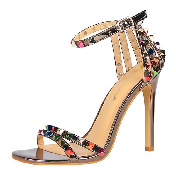 Multi Gem Studded Sandal Shoes