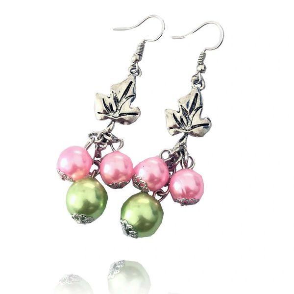 Ivy Beads Pierce Earrings - AKA