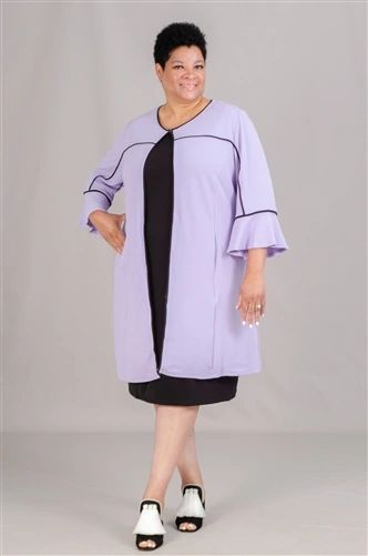 Catherine Plus Size Bell Sleeve Cardigan