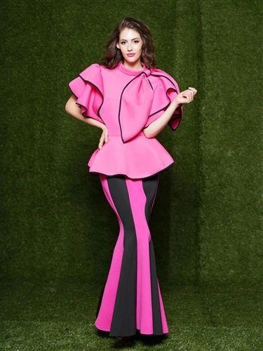 Stripe Mermaid Scuba Skirt