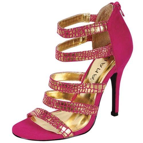 DLS11002 - ADA - Designer Sandal Strap Shoes