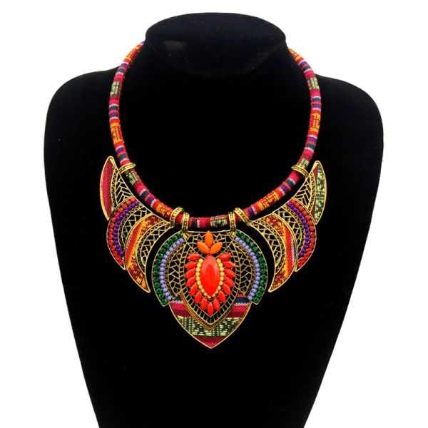 Handmade Beaded Tribal Crafted Necklaces