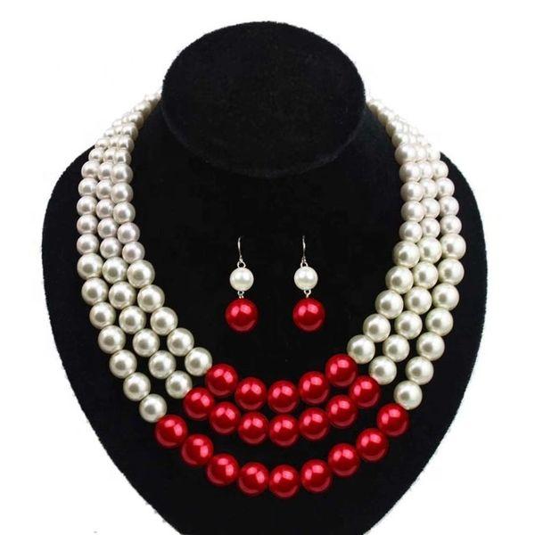 Pearls - Delta Sigma Theta Necklace Set