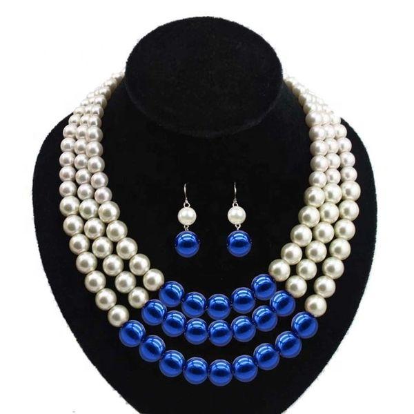 Pearls - Zeta Phi Beta Necklace Set