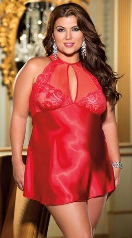 DLL160592 Big Girl Halter Style Satin Dress