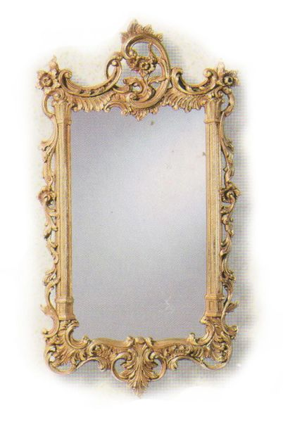 Gilded Chippendale Mirror