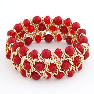 DL26772173 Beaded Twist Bracelet