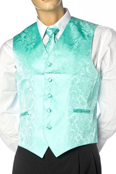 Men's Paisley Dress Vest