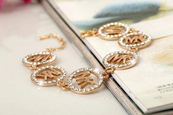 DL532698200 Designer MK Jeweled Bracelet