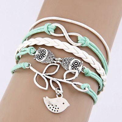 Wisdom String Bangle Bracelet