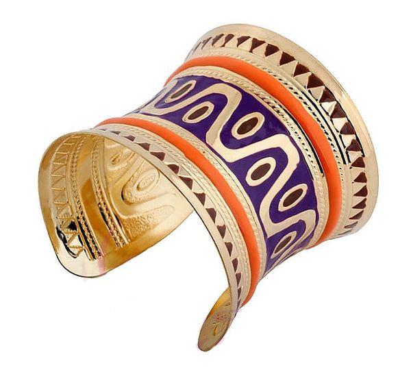 DL532356 Egyptian Inspired Bangle Deco Bracelet