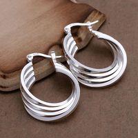 DL02925179 .925 Sterling Silver Hoop Earrings