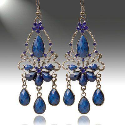 Victorian Teardrop Earrings