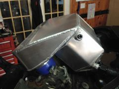 08-17 Suzuki Hayabusa Water/Air Intercooled Plenum