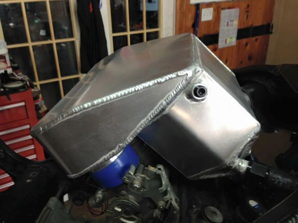 08-19 Suzuki Hayabusa Water/Air Intercooled Plenum