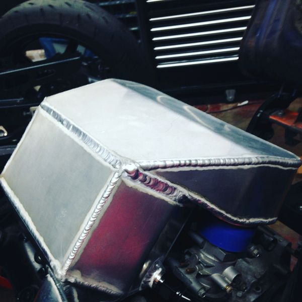 Intercooled Plenum Package w fuel system upgrade Suzuki Hayabusa Gen I