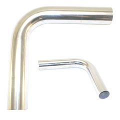 """2' Mandrel Bent Aluminum 90° Bend, 2.0"""""""