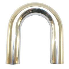"""2' Mandrel Bent Aluminum 180° Bend, 2.0"""""""