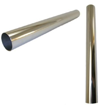2' Straight Stainless Steel Pipe, 3.0""