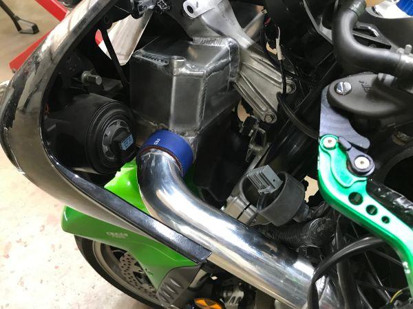 2006-2017 Kawasaki Turbo ZX14 & ZX14R Front Mount Water/Air Intercooler