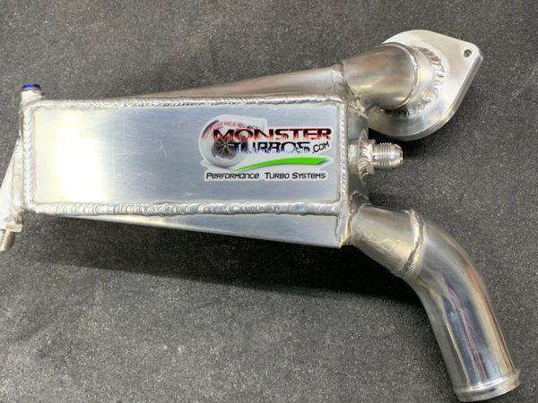 2006-2020 Kawasaki Turbo ZX14 & ZX14R Left Side Water/Air Intercooler