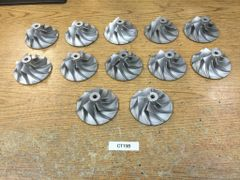 Toyota CT15B OEM Cast Aluminum Compressor Wheels
