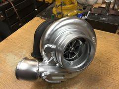 HX40-Pro 66/67 Holset With a Precision V-Band Turbine Housing