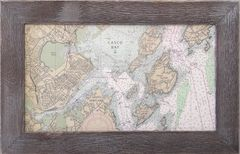 Custom Nautical Chart - Panoramic