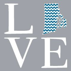 Stacked LOVE - Chevron