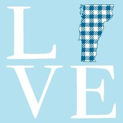 Stacked LOVE - Plaid