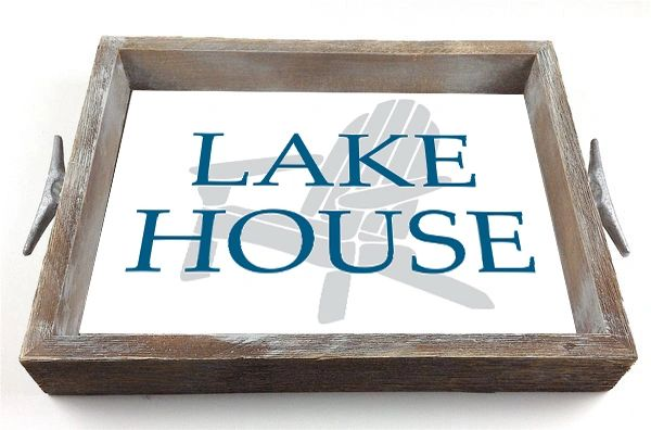Lake House - Interchangeable Insert Serving Tray